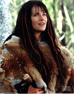 Photo of Lucy Lawless as Xena: Warrior Princess